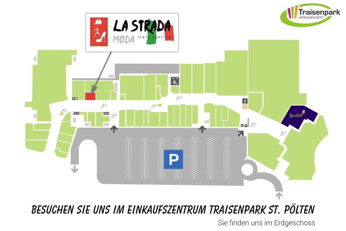La Strada im Einkaufszentrum Traisenpark St. Pölten